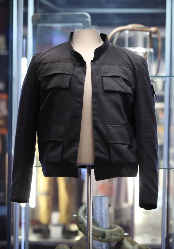 "One of Han Solo's jackets from ""Star Wars: The Empire Strikes Back."""