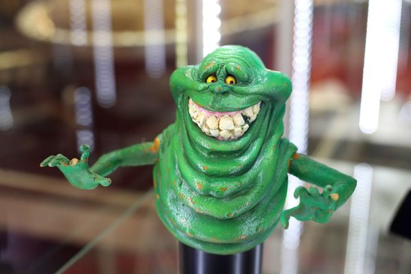 "Slimer from ""Ghostbusters."""