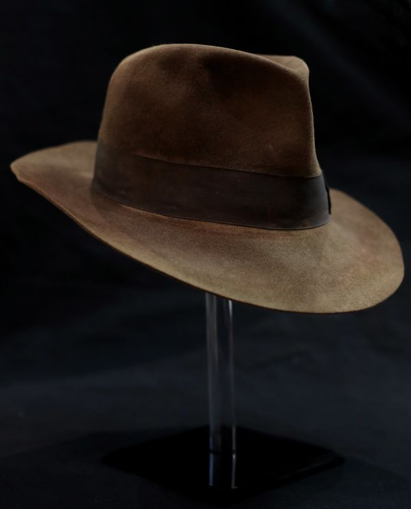 "Indiana Jones' hat from ""Raiders of the Lost Ark."""