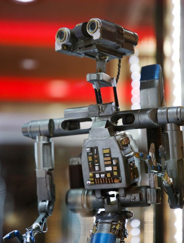 "Johnny 5 from ""Short Circuit."""