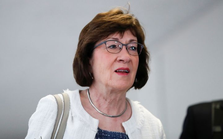 Sen. Susan Collins suggested the newly released Kavanaugh email on Roe v. Wade wasn't a big deal.