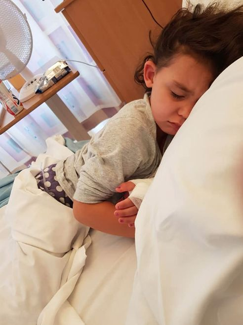 Four-year-old Sienna Rasul was hospitalized for five days after she developed sepsis.