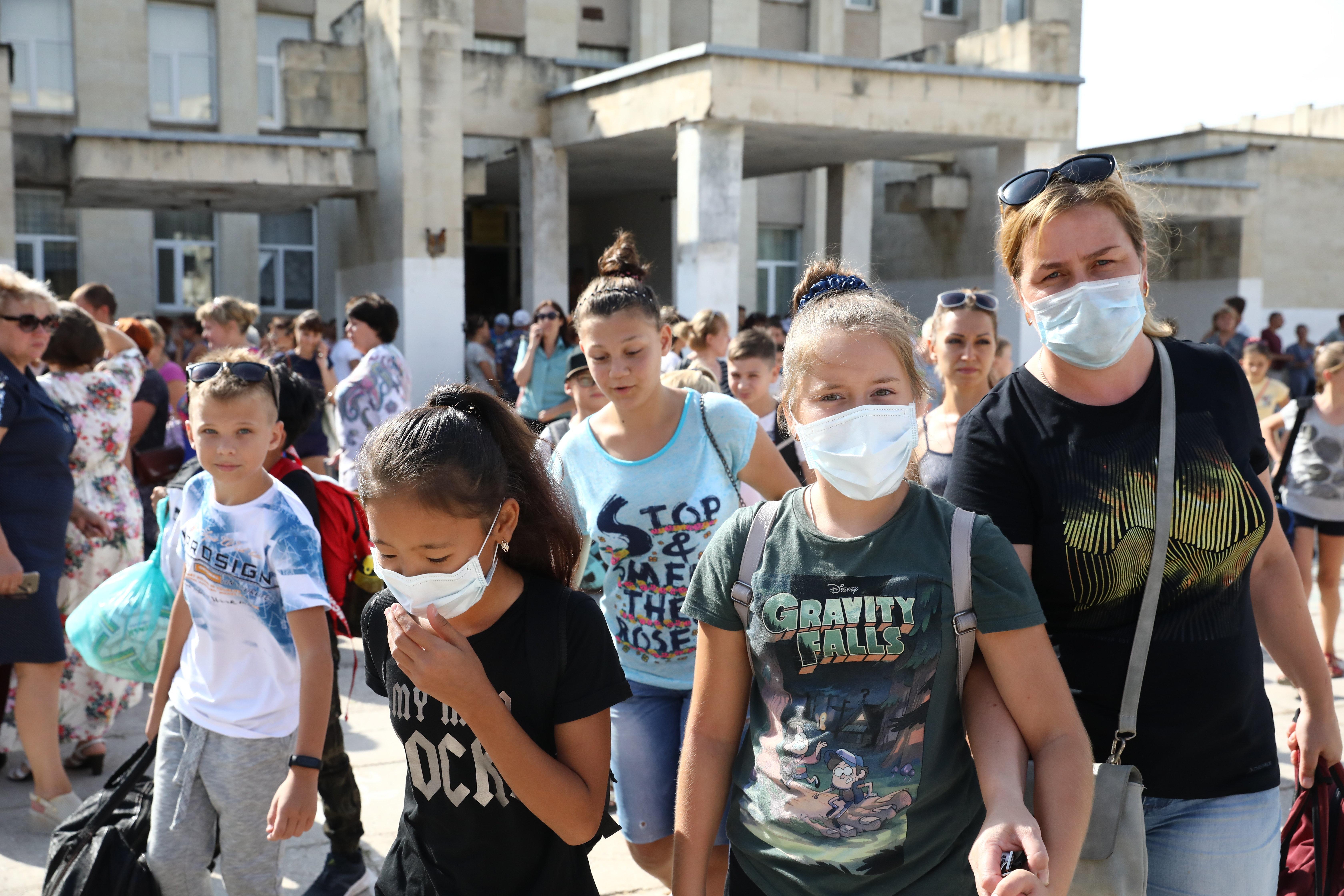 Χιλιάδες άνθρωποι εγκατέλειψαν τα σπίτια τους στην Κριμαία λόγω βιομηχανικής ρύπανσης που έμεινε κρυφή για