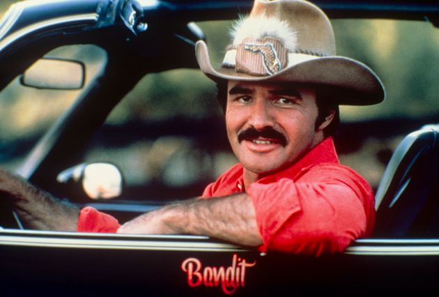 Burt Reynolds in the car from Smoky and the