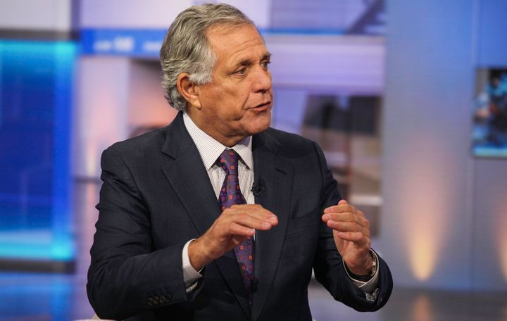"Les Moonves, the head of CBS, says Donald Trump has led to money ""rolling in"" this election cycle."