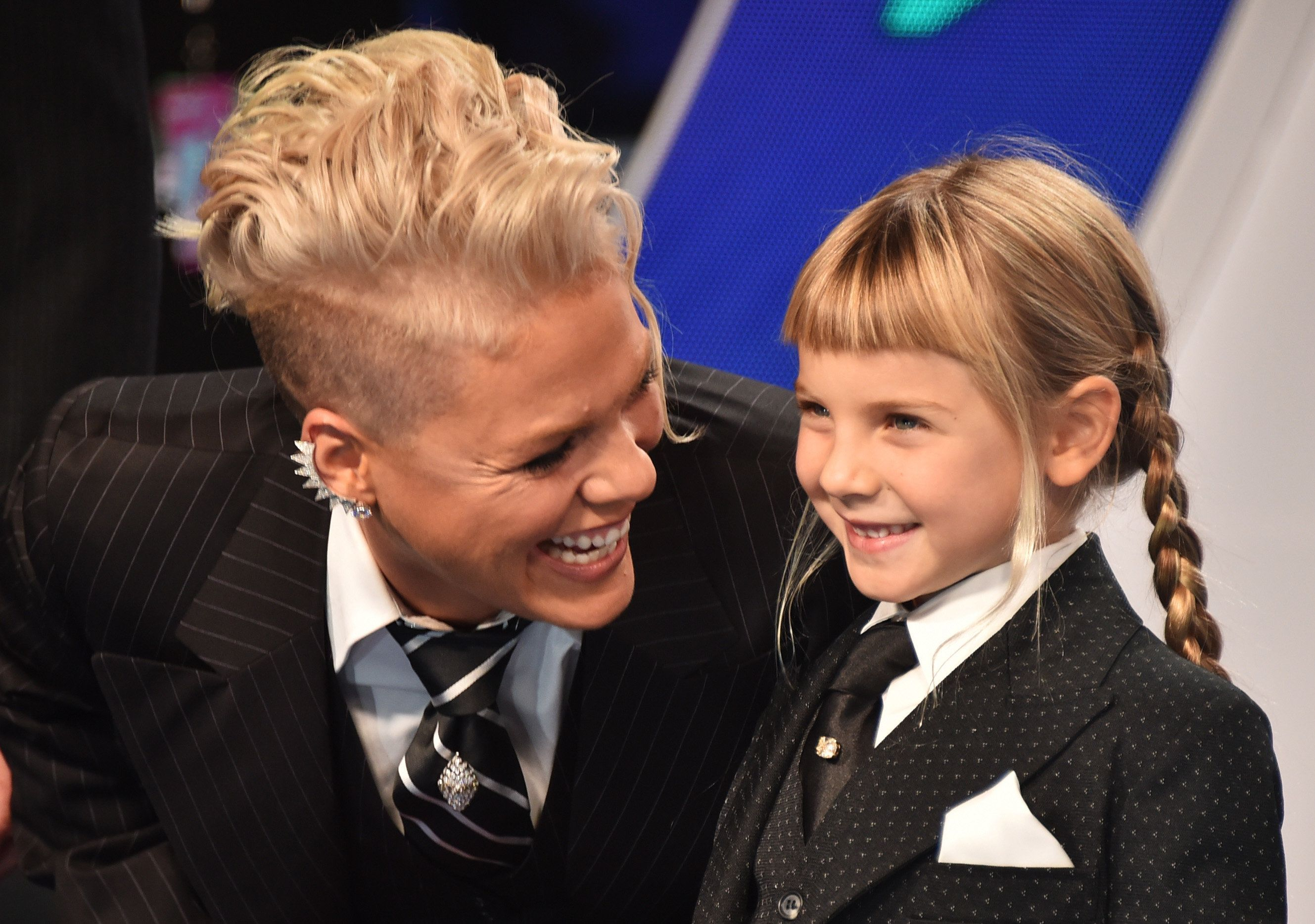 Pink is not afraid to get real about the highs and lows of parenting.