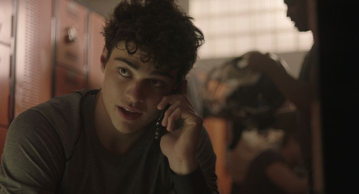 Noah Centineo as Jamey, a nerdy quarterback with a heart of gold.