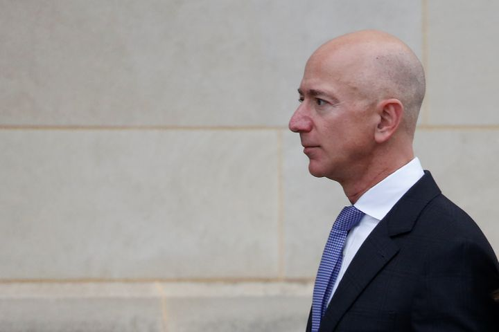 Amazon CEO Jeff Bezos is targeted in the proposed legislation.