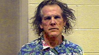 Actor Nicholas King Nolte is pictured in this booking photo released by the California Highway Patrol September 12, 2002. Nick Nolte was arrested September 11 on suspicion of driving under the influence of alcohol or drugs after a CHP officer observed Nolte swerving his 1992 Mercedes-Benz into opposing traffic near his Malibu home. Nolte was cited and released. REUTERS/HO/California Highway Patrol EDITORIAL USE ONLY  JR/MMR
