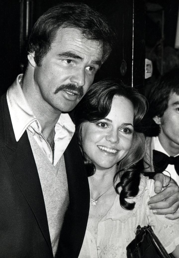 Burt Reynolds and Sally Field in 1978.
