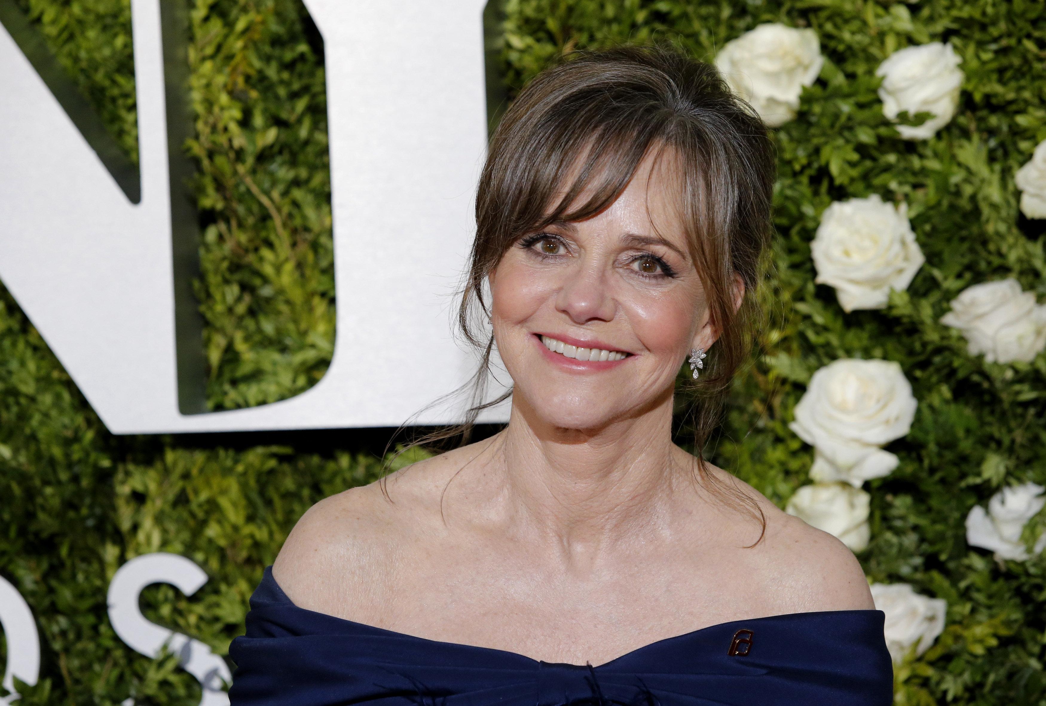 71st Tony Awards  – Arrivals – New York City, U.S., 11/06/2017 - Actress Sally Field. REUTERS/Eduardo Munoz Alvarez