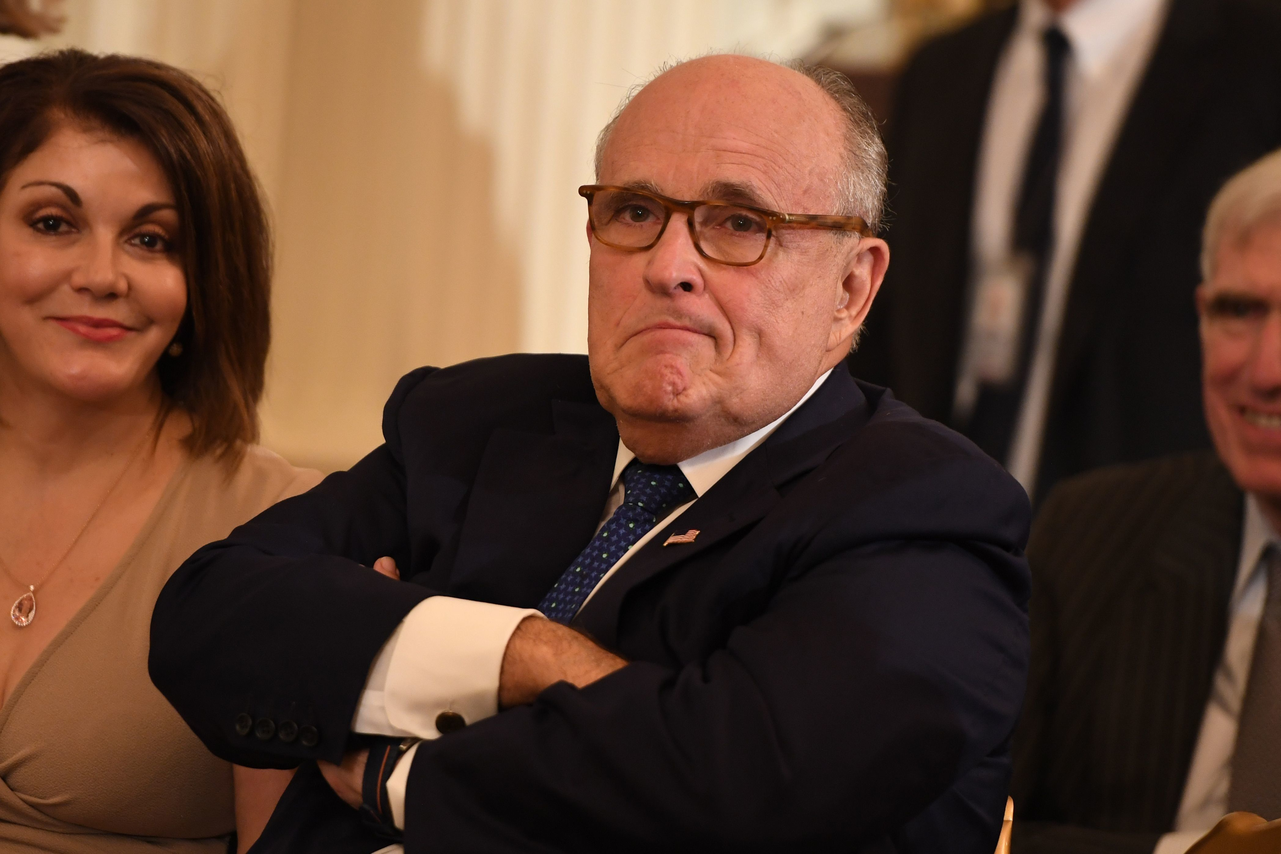 Giuliani tells AP: Trump won't answer obstruction questions