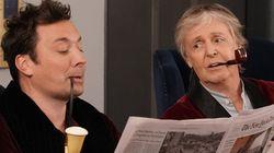 Paul McCartney, Jimmy Fallon Hilariously Prank Tourists At Rockefeller