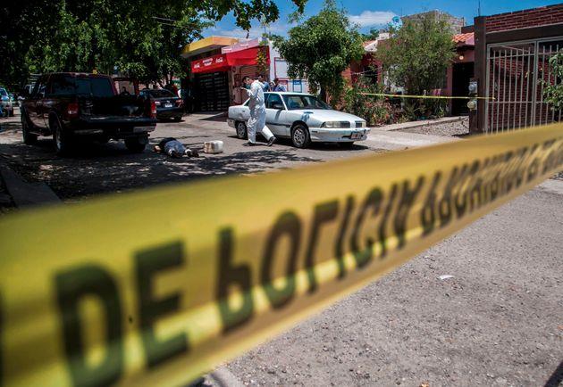 멕시코의 어느 숲에서 166구의 시체가