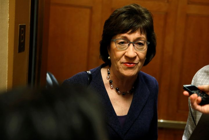 A vote for Kavanaugh would destroy Sen. Susan Collins' independent, pro-health care, pro-women's rights reputatio