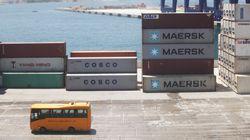24ωρη απεργία στις προβλήτες της Cosco στον Πειραιά. Συγκέντρωση διαμαρτυρίας έξω από τον Σταθμό Εμπορευματοκιβωτίων