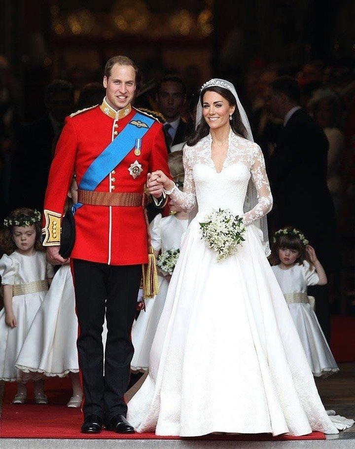 Royals: Die 15 schönsten königlichen Hochzeitskleider aller