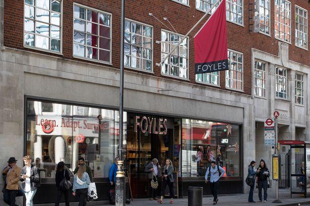 Foyles on Charing Cross Road,