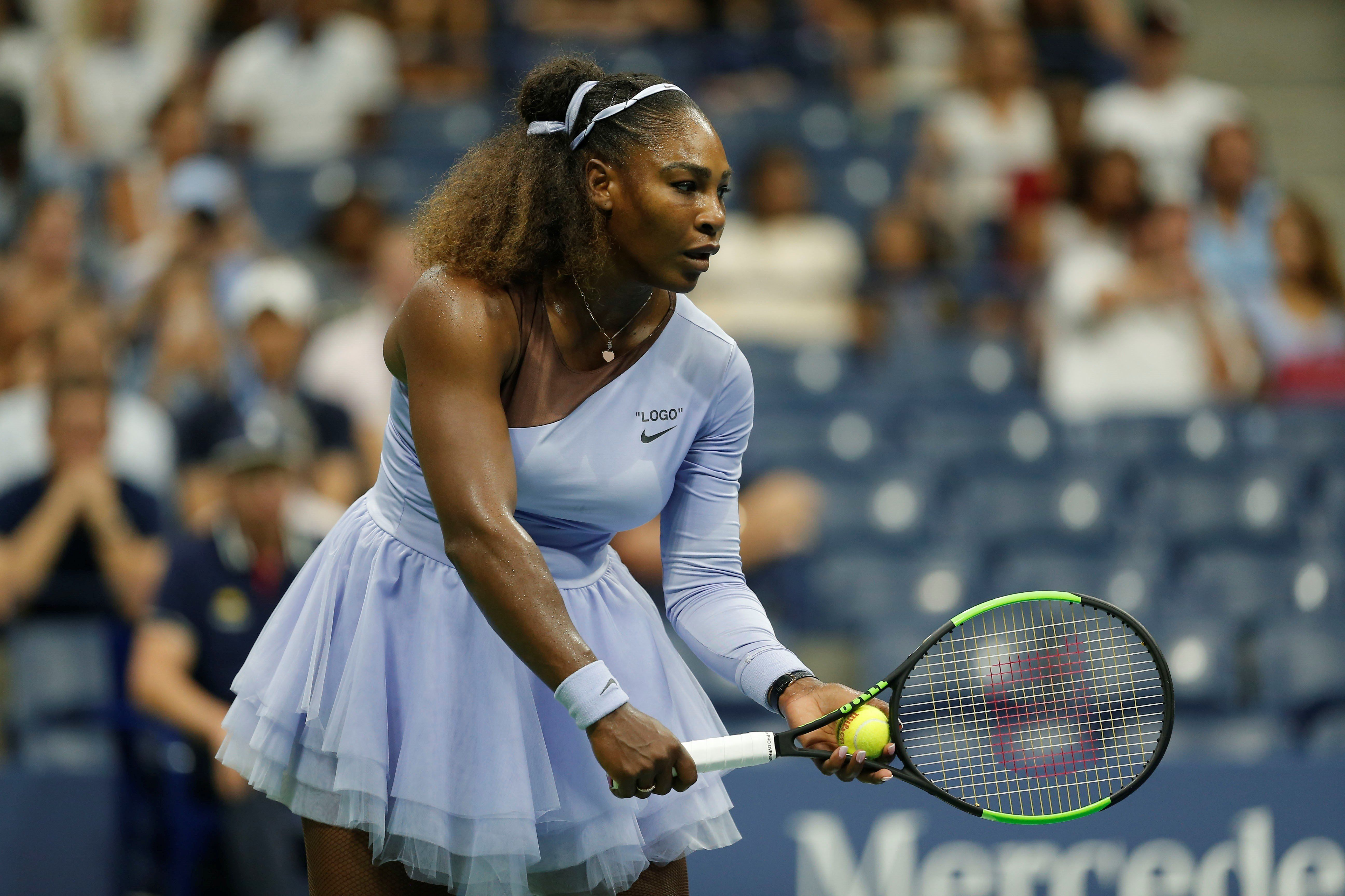 Watch Serena Williams journey from giving birth to U.S. Open