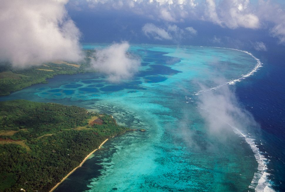 Yap Island, Micronesia. The islands that make up the Federal States of Micronesia are susceptible to plastic pollution but co