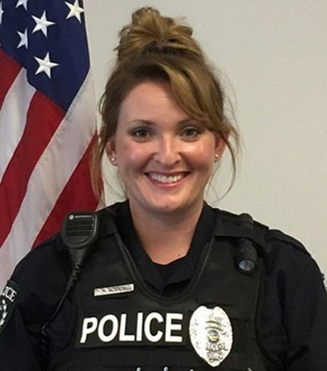 Officer Maryssa Boskoski is accused of using a Taser to wake up a sleeping student.
