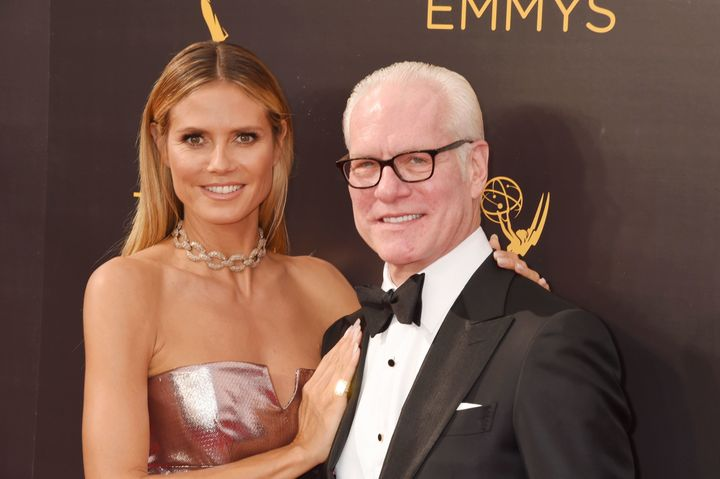 Heidi Klum and Tim Gunn attend the 2016 Creative Arts Emmy Awards. The duo is creating a new fashion reality series for