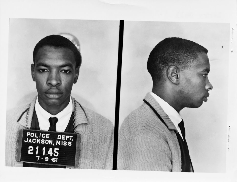 Bell's mugshot from 1961.