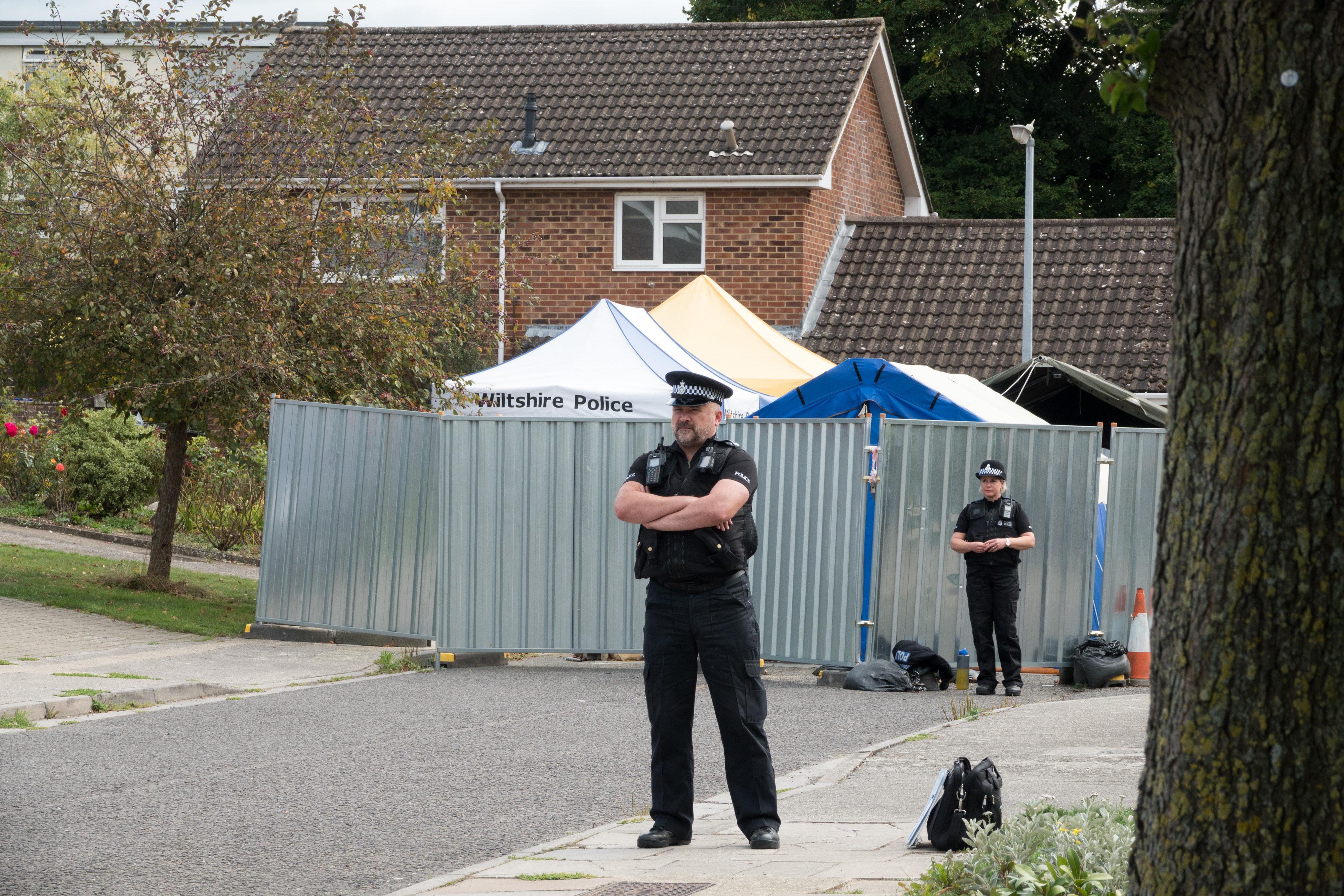 Decontamination Of Salisbury Home Of Poisoned Ex Spy Sergei Skripal