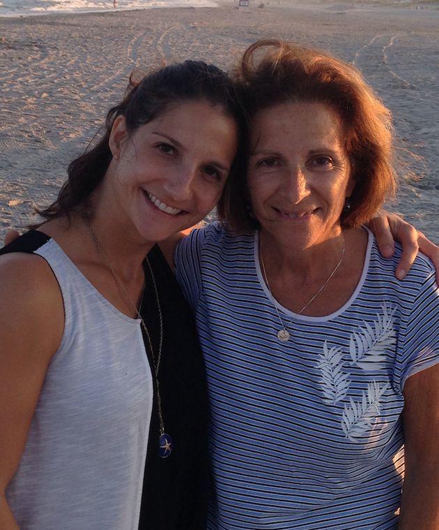 Rachel Nusbaum con su madre en