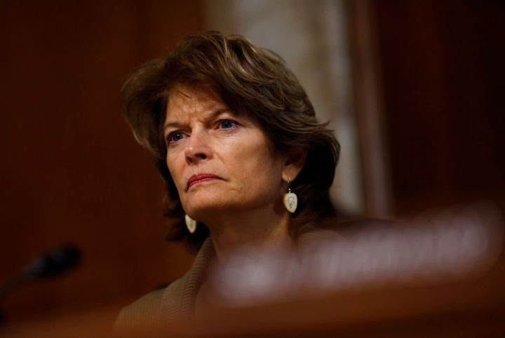 Sen. Lisa Murkowski (R-Alaska), always keeps us guessing where she'll come down on major Senate votes.