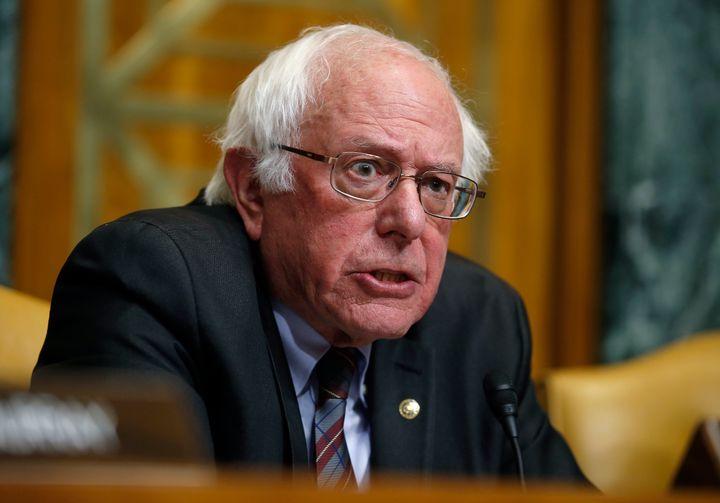 Sen. Bernie Sanders (I-Vt.) speaks during a Senate Budget Committee markup in November 2017. His presidential run brought Med