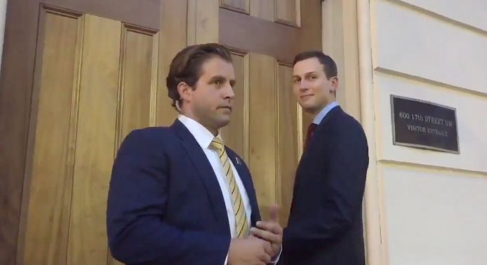 There Were Zero Things Better This Week Than Jared Kushner Standing Outside A Locked
