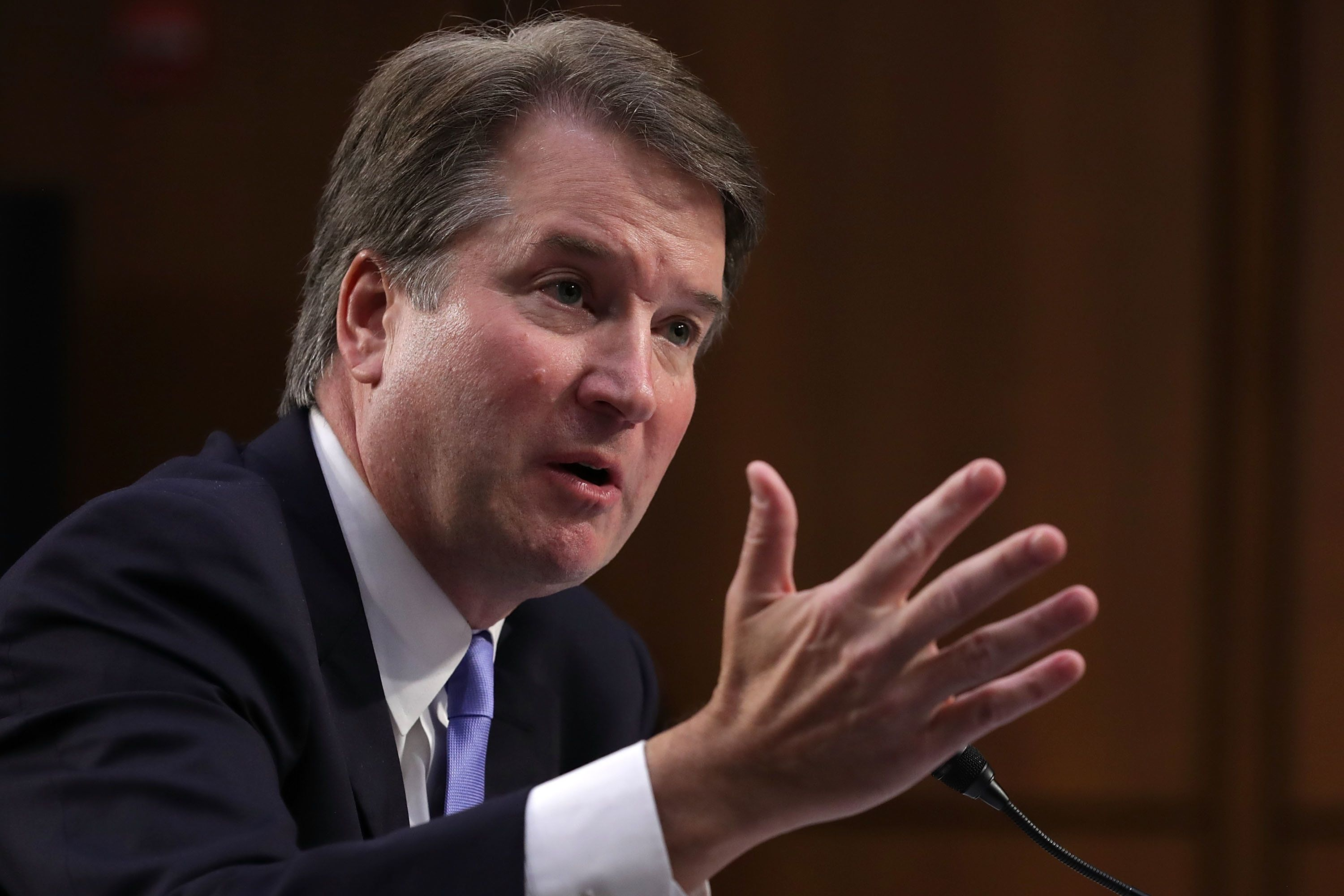 Supreme Court nominee Brett Kavanaugh appeared to refer to contraceptives as