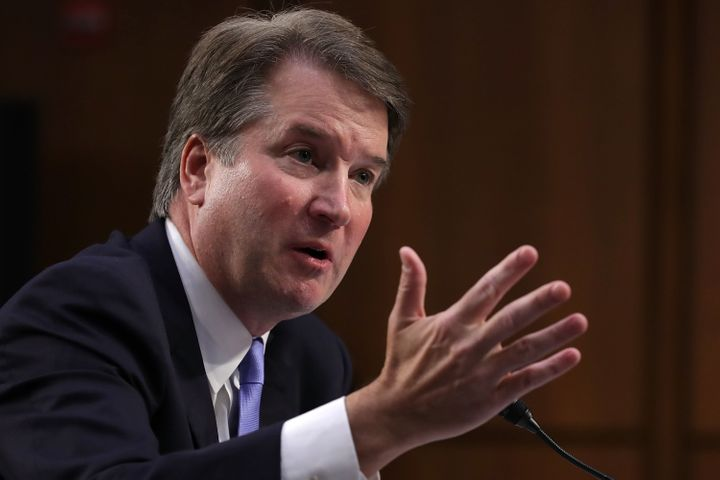 "Supreme Court nominee Brett Kavanaugh appeared to refer to contraceptives as ""abortion-inducing drugs"" at his Senate hearing."