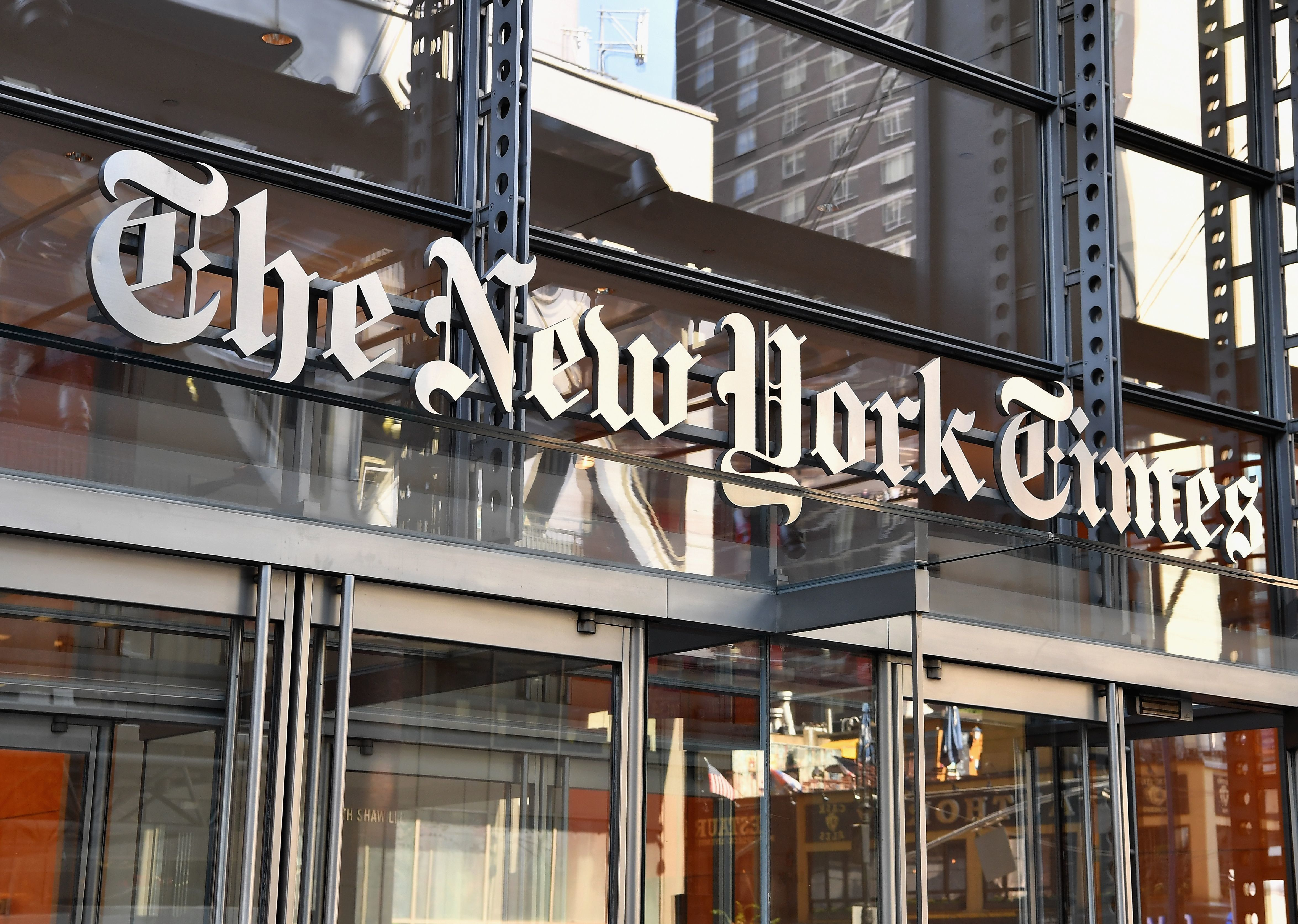"""In October 2016, The New York Times published a story titled """"Investigating Donald Trump, F.B.I. Sees No Clear Link to"""