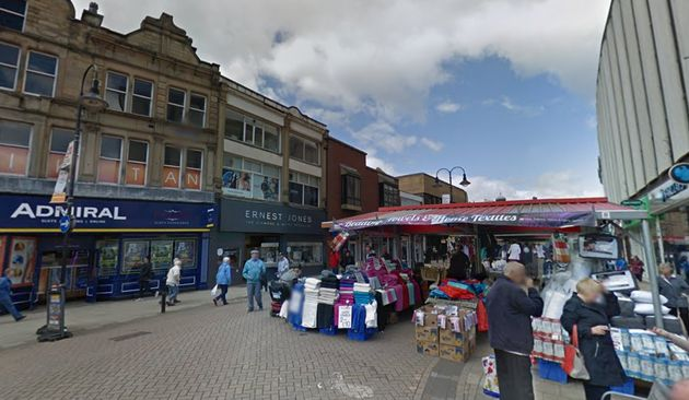 Police said a 'serious incident' occurred in Barnsley town centre on
