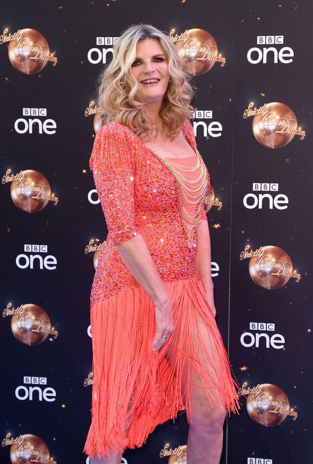 Susannah Constantine at the show's red carpet launch last