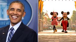 Obama Was Once Escorted Out Of Disneyland For