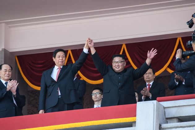 북한 9일 개최한 열병식에 ICBM이 등장하지