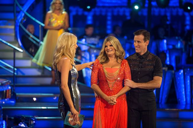 Susannah Constantine and Anton Du Beke learn they've been paired