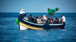 Au large de Casablanca, 19 migrants marocains sauvés par la Marine