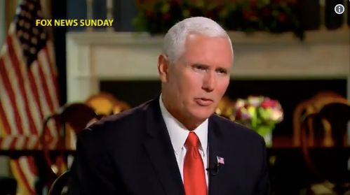 Mike Pence: I Would Take A Lie Detector Test About Anonymous NYT Op-Ed 'In A