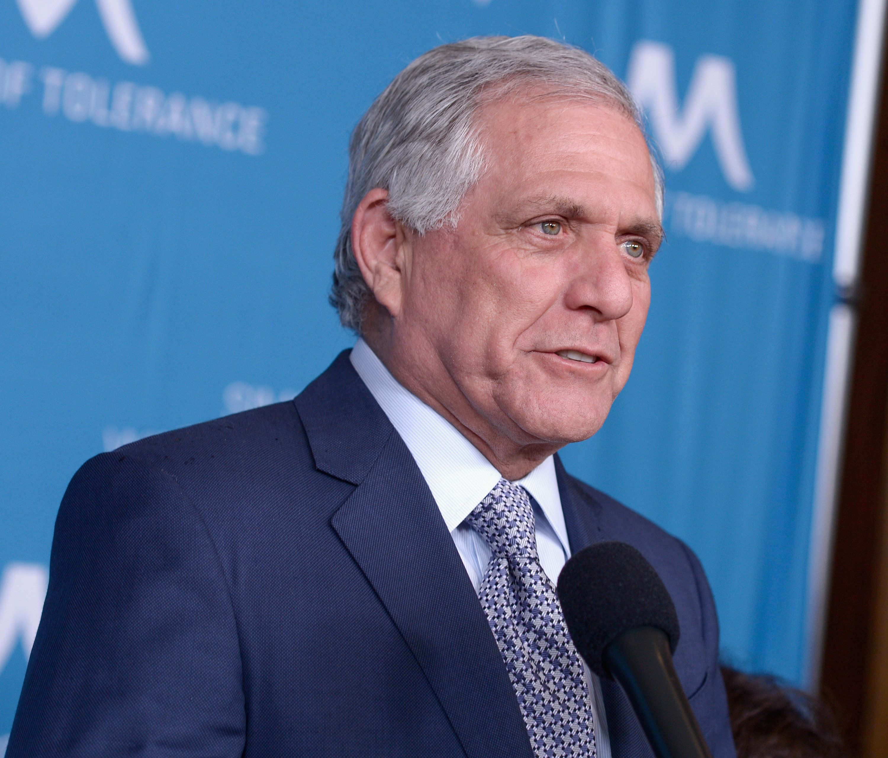 BEVERLY HILLS, CA - MARCH 22:  Les Moonves attends the 2018 Simon Wiesenthal Center National Tribute Dinner Honoring Leslie Moonves at The Beverly Hilton Hotel on March 22, 2018 in Beverly Hills, California.  (Photo by Tara Ziemba/Getty Images)