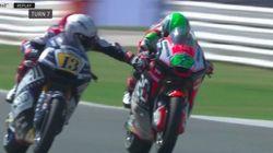 Romano Fenati, au Grand Prix de Saint-Marin, a osé un geste très dangereux pour ralentir ce