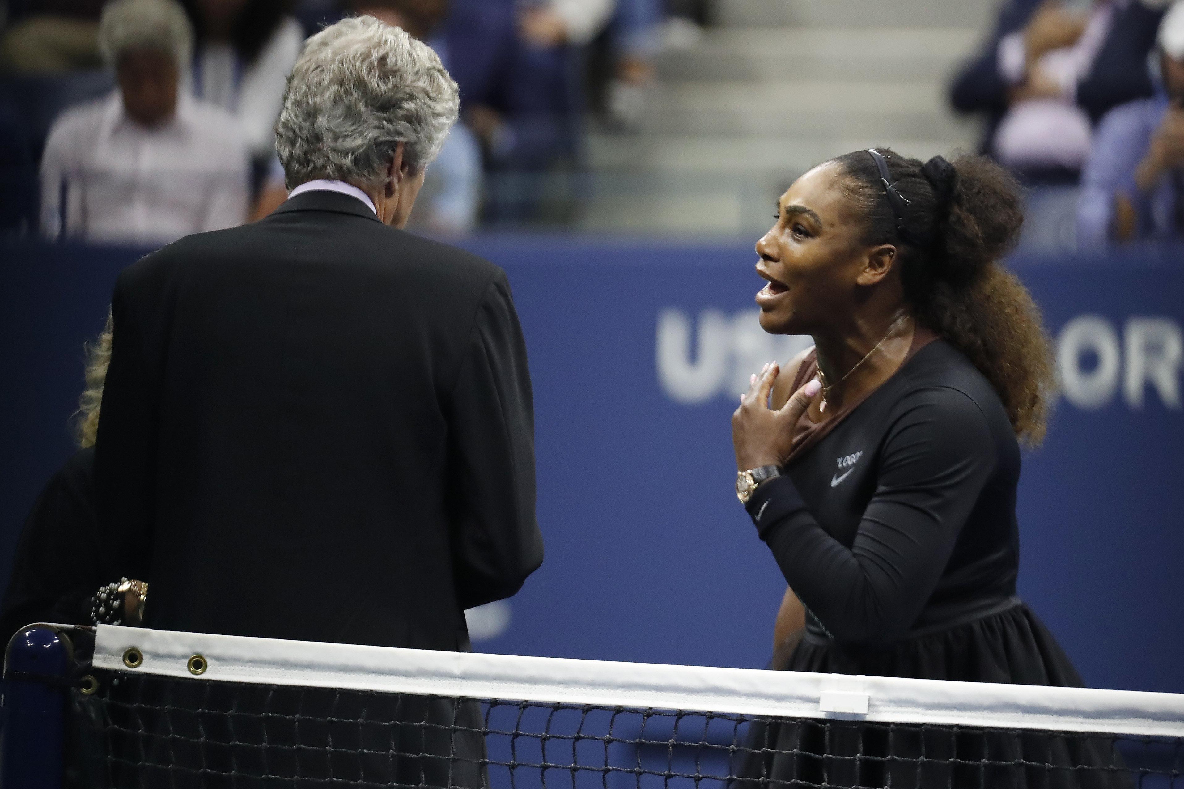 Serena Williams Addresses U.S. Open Controversy In New