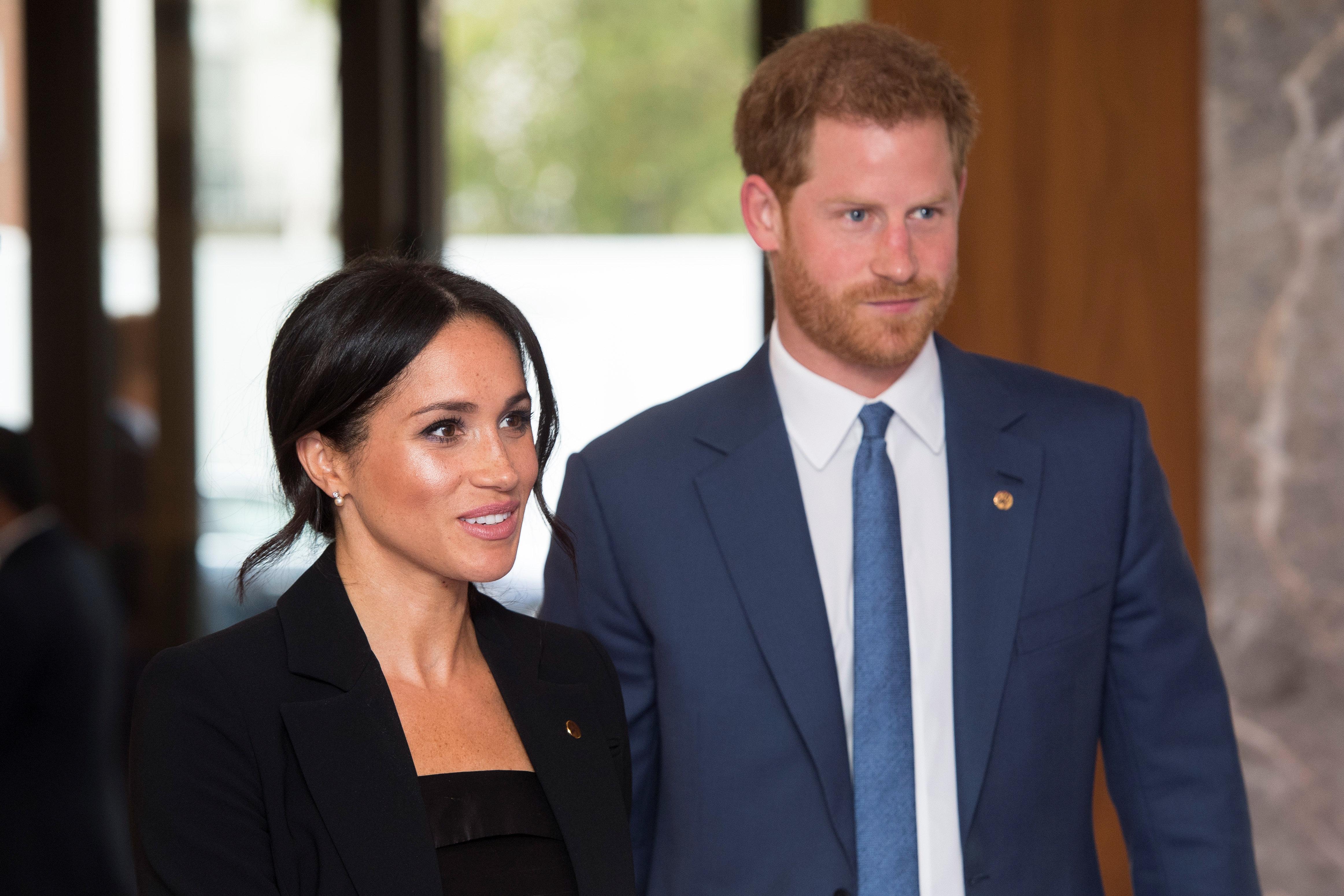 Herzogin Meghan und Prinz