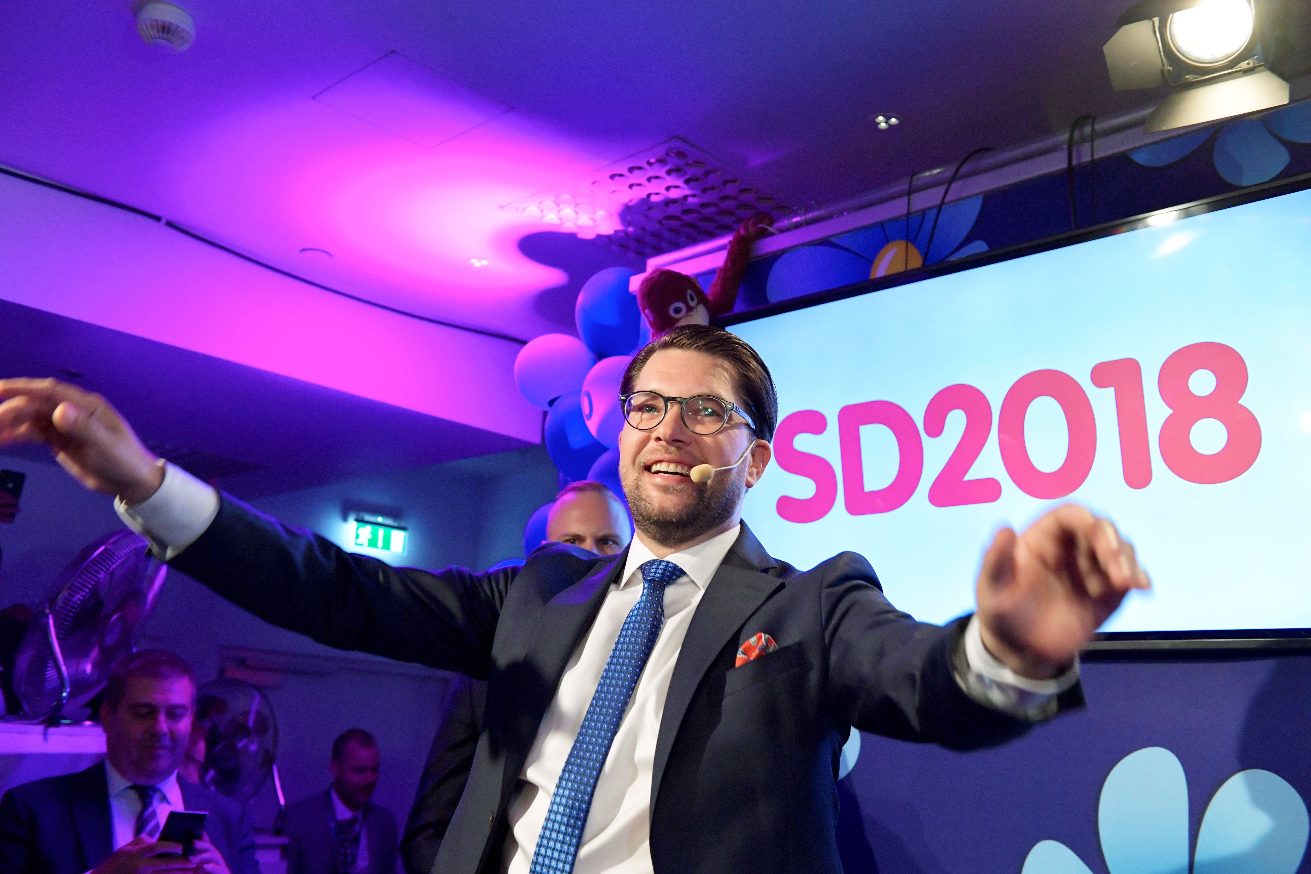 Long-Standing Political Consensus Fractured After Far-Right Party Makes Gains In Sweden Election