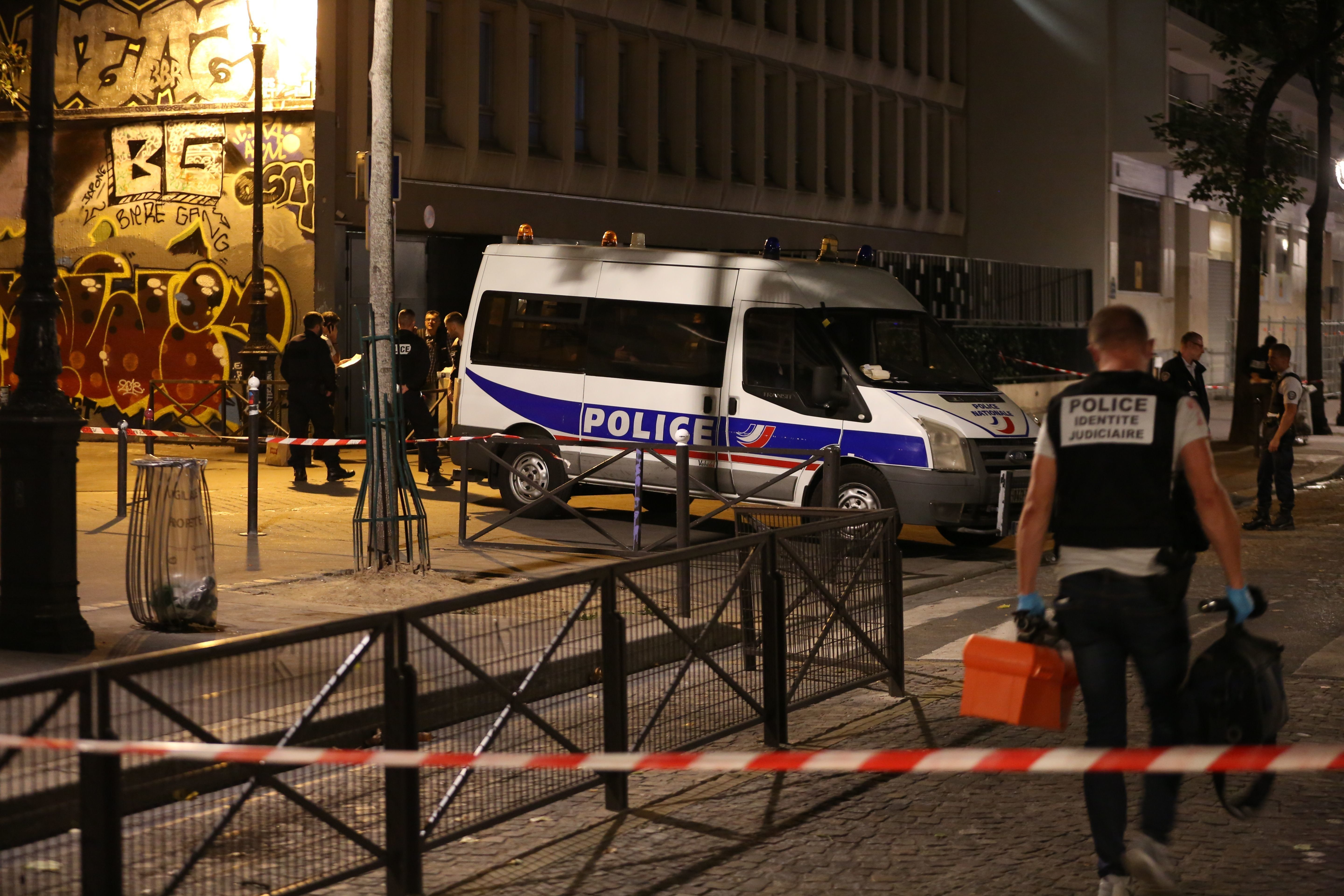 Man Arrested After Paris Knife Attack Sees Seven People