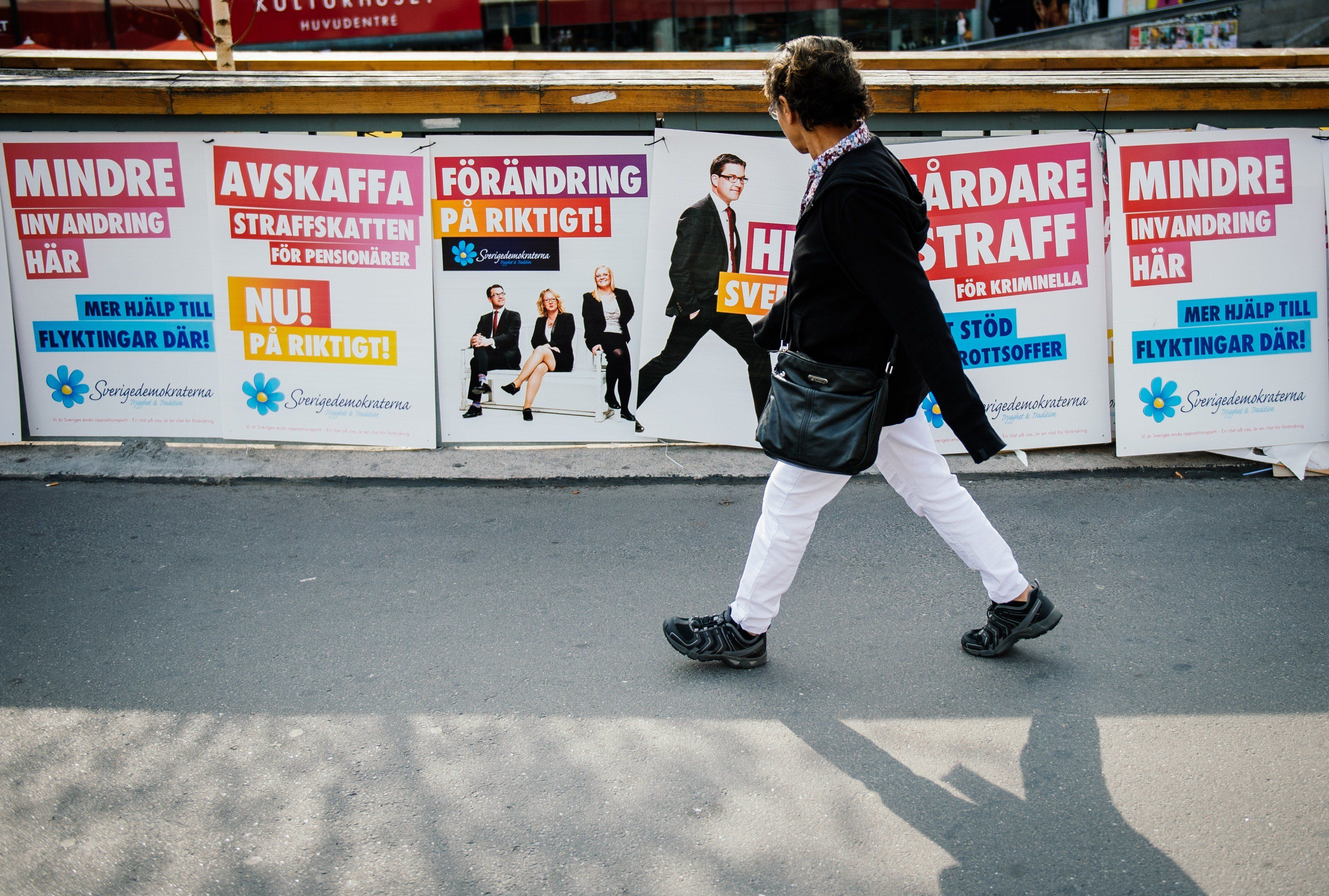 스웨덴 극우정당은 '난민사태' 훨씬 전부터 급부상하고