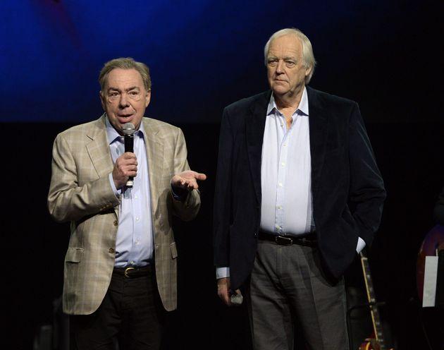 Andrew Lloyd Webber and Tim